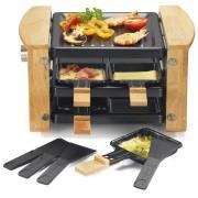 Machine à raclette KITCHEN CHEF KCWOOD 4 RP