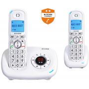 Téléphone sans fil ALCATEL XL 585 VOICE DUO BLANC