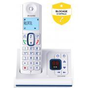 Téléphone sans fil ALCATEL F 630 VOICE BLEU