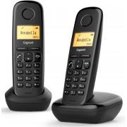 Telephone sans fil GIGASET SIEMENS GIGA A 170 DUO NOIR