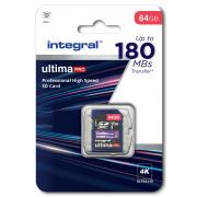 Carte sdxc INTEGRAL INSDX64G-180V30