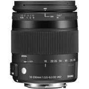 Optique zoom pour appareil photo reflex numerique SIGMA 18-200 DC OS CANON