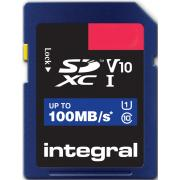 Carte secure digital INTEGRAL INSDH 16 G-100 V 10