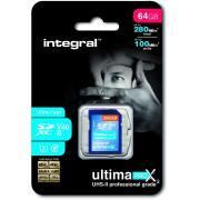 Carte mémoire INTEGRAL INSDX 64 G 260/100 U 2