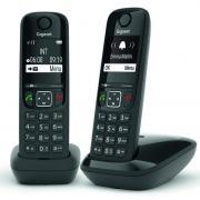 Téléphone sans fil GIGASET SIEMENS GIGA AS 690 DUO NOIR