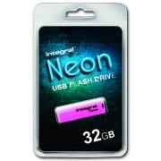 Cle usb INTEGRAL NEON ROSE 32 GB