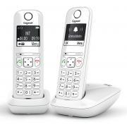 Téléphone sans fil GIGASET SIEMENS GIGA AS 690 DUO BLANC