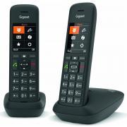 Téléphone sans fil GIGASET SIEMENS GIGA C 575 DUO NOIR
