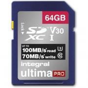 Carte secure digital INTEGRAL INSDX 64 G-100/70 V 30