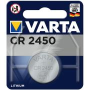 Pile bouton VARTA CR 2450