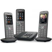 Telephone sans fil GIGASET SIEMENS GIGA CL 660 A TRIO ANTHRACITE