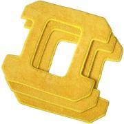 Accessoire nettoyage sol EZICOM PACK3MICROFIBRESJAUNES