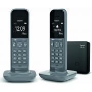 Téléphone sans fil GIGASET SIEMENS GIGA CL 390 A DUO GREY