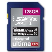 Carte secure digital INTEGRAL INSDX 128 G-100/90 V 30