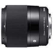 Optique fixe pour appareil photo reflex numerique SIGMA 30/1.4 DC DN CANON EFM