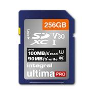 Carte secure digital INTEGRAL INSDX 256 G-100/90 V 30