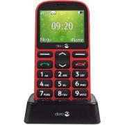 Gsm portable seul DORO 1361 ROUGE