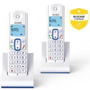 Téléphone sans fil ALCATEL F 630 DUO BLEU