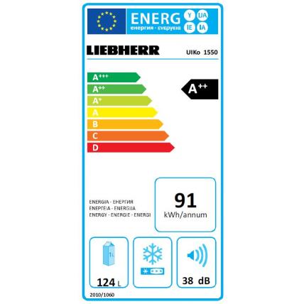 Réfrigérateur intégrable 1 porte LIEBHERR UIKO 1550-21 - 3