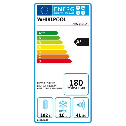 Réfrigérateur intégré 1 porte WHIRLPOOL ARG 9421 A+ - 5