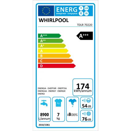 Lave linge top WHIRLPOOL TDLR 70220 - 3