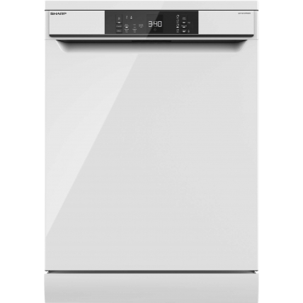 Lave-vaisselle 60 cm SHARP QWNA1DF45EW - 1