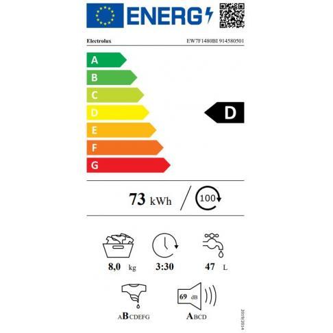 Lave-linge intégrable ELECTROLUX EW7F1480BI - 4