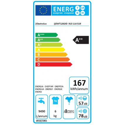 Lave-linge top ELECTROLUX EWT 1262 ID - 3