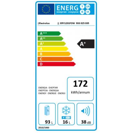 Réfrigérateur intégrable 1 porte ELECTROLUX ERY 1201 FOW - 3