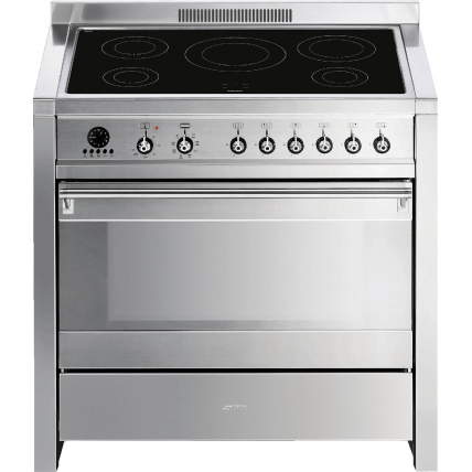 Piano Cuisson Dessus Induction Smeg Gamme Elite Cs 19 Id 7 Mda