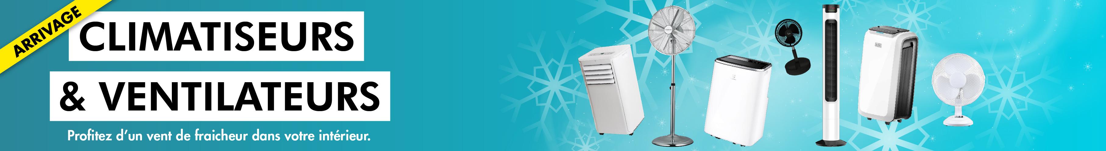 Climatiseurs et ventilateurs MDA