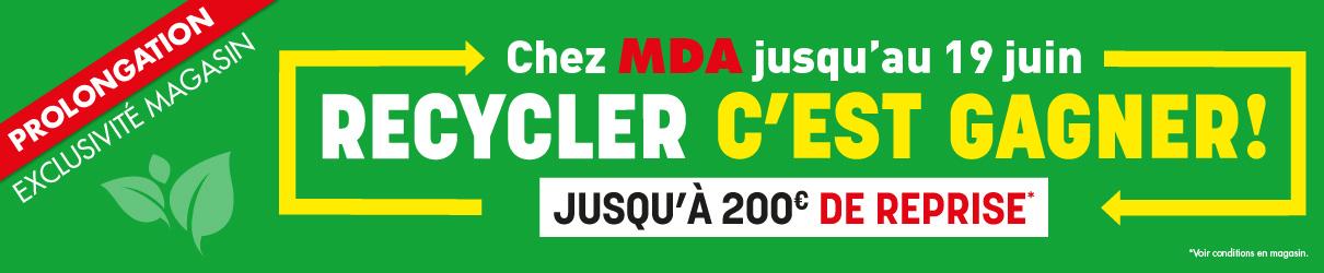 Opération recyclage MDA
