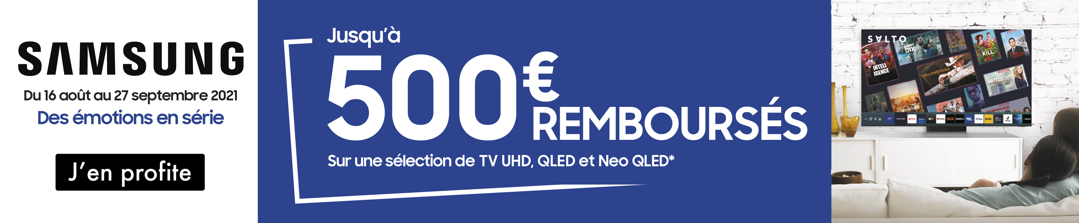 offre de remboursement tv samsung