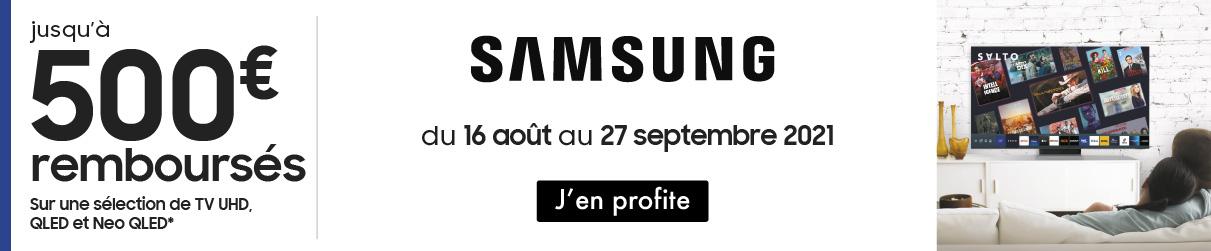Offre de remboursement Samsung MDA
