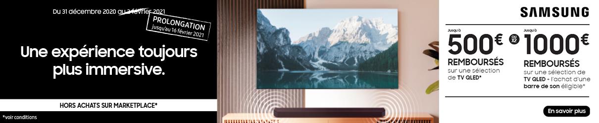 Offre De Remboursement Samsung TV QLED MDA